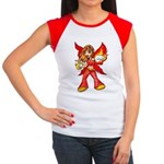 Fire Fairy Women's Cap Sleeve T-Shirt