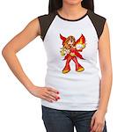 Fire Fairy Women's Cap Sleeve T-Shirt