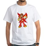 Fire Fairy White T-Shirt