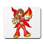 Fire Fairy Mousepad