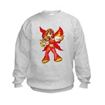 Fire Fairy Kids Sweatshirt
