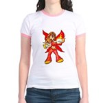 Fire Fairy Jr. Ringer T-Shirt