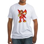 Fire Fairy Fitted T-Shirt