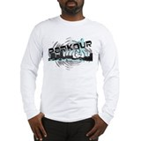 Parkour Free Running Urban Sport Long Sleeve Shirt
