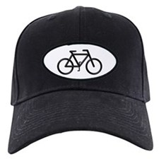 """Black Bike"" Baseball Hat"