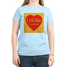 Loveland Colorado Women's Pink T-Shirt