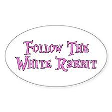Follow The White Rabbit Decal