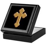 Keepsake Box Orthodox Cross