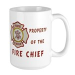 Fire Chief Property Large Mug
