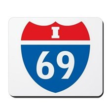 Interstate 69 I-69 Mousepad