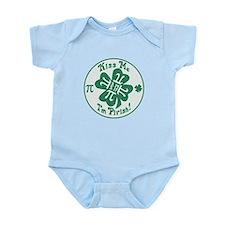 Kiss Me I'm Pirish Infant Bodysuit