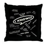 Fergisms Throw Pillow