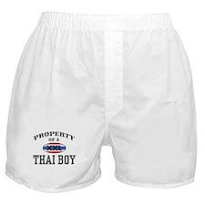 Property of a Thai Boy Boxer Shorts