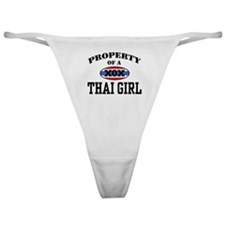 Property of a Thai Girl Classic Thong