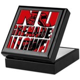 Jersey Shore No Grenades Allo Keepsake Box