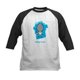 Moody little fencing characte Tee