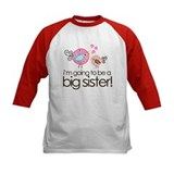 I'm Going to Be Big Sister Whimsy Bird Tee