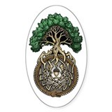 Ouroboros Tree Bumper Stickers