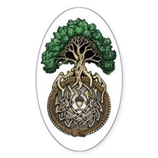 Ouroboros Tree Decal