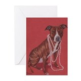 Pretty Pittie Greeting Cards (Pk of 10)
