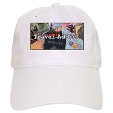"""Travel Addict"" Baseball Cap"