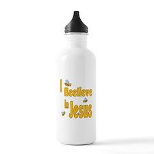 Beelieve in Jesus Water Bottle