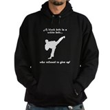 Black Belt Refusal Hoody