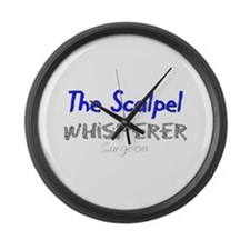Professional Occupations III Large Wall Clock