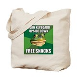 Free Snacks Tote Bag