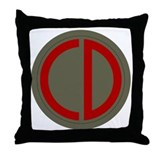 Custer Throw Pillow