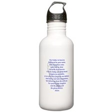 The LORD's Prayer Water Bottle