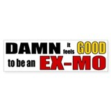 Ex Mormon Bumper Car Sticker