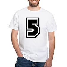 Varsity Uniform Number 5 Premium Shirt