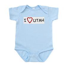 I Love Utah Infant Creeper