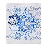 Circuitboard Throw Blanket