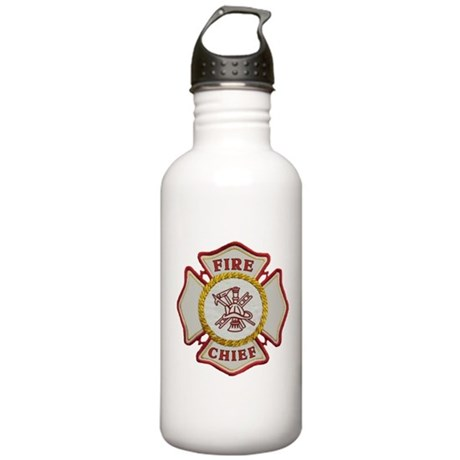 Fire Chief Maltese Stainless Water Bottle 1.0L