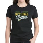 2010 Nat10nal Champs Women's Dark T-Shirt