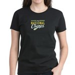 2010 Nat10nal Champs Women's Dark T-Shirt (2/S)