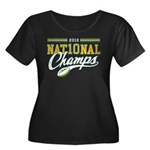 2010 Nat10nal Champs Women's Plus Size Scoop Neck