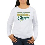 2010 Nat10nal Champs Women's Long Sleeve T-Shirt