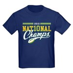 2010 Nat10nal Champs Kids Dark T-Shirt