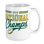 2010 Nat10nal Champs Large Mug