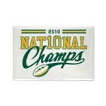 2010 Nat10nal Champs Rectangle Magnet