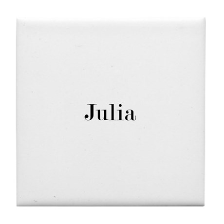 Julia 2 Tile Coaster