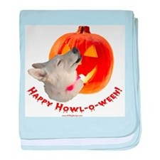 Happy Howl-o-ween! baby blanket