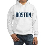 Boston (Blue) Hoodie Sweatshirt