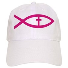 Unique Christian fish Baseball Cap