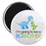 Dinosaur Big Brother Magnet