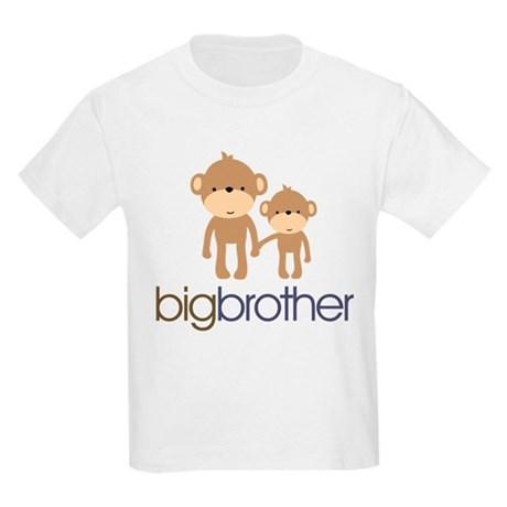 Big Brother Monkey Kids Light T-Shirt