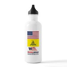 American-American Movement Water Bottle